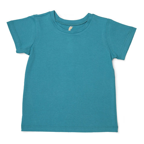 "Unisex Adaptive ""Learn to Dress"" Every Day T-Shirt: Aqua by Me Do."