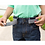Thumbnail: Gray Race Car Velcro Belt by Myself Belts