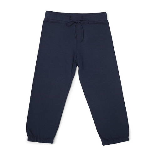 "Unisex Adaptive ""Learn to Dress"" Every Day Sweatpant - Navy Blue by Me Do."