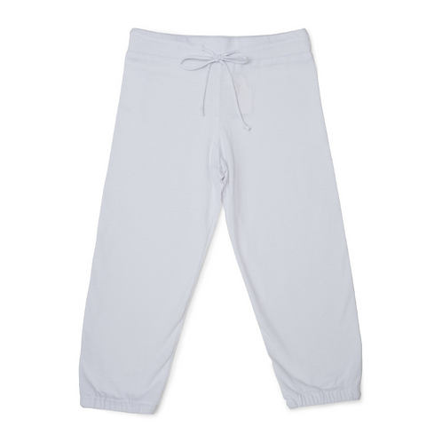 """Unisex Adaptive """"Learn to Dress"""" Every Day Sweatpant - White by Me Do."""