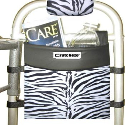 Zebra Walker Bag by Crutcheze