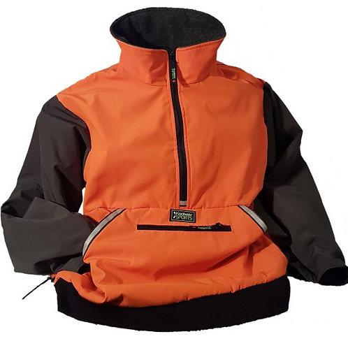 KoolKoat Orange + Black Jacket by Koolway Sports