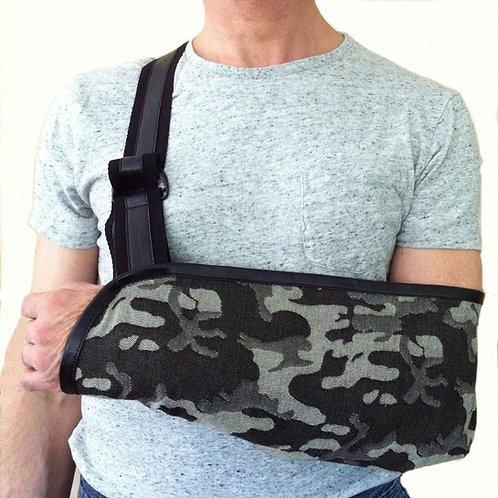 Camo Mens Arm Sling by Not Blue Designs