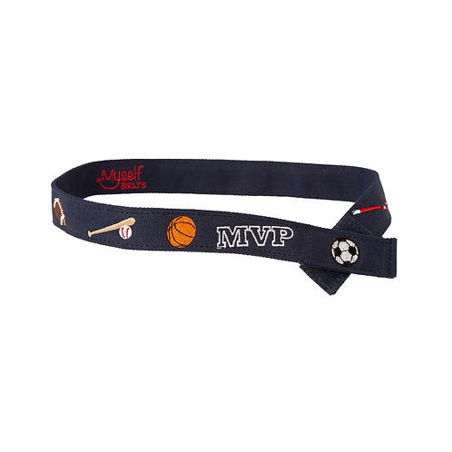 MVP Sports Velcro Belt by Myself Belts