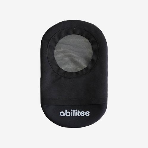 Black Ostomy Cover by Abilitee Adaptive Wear