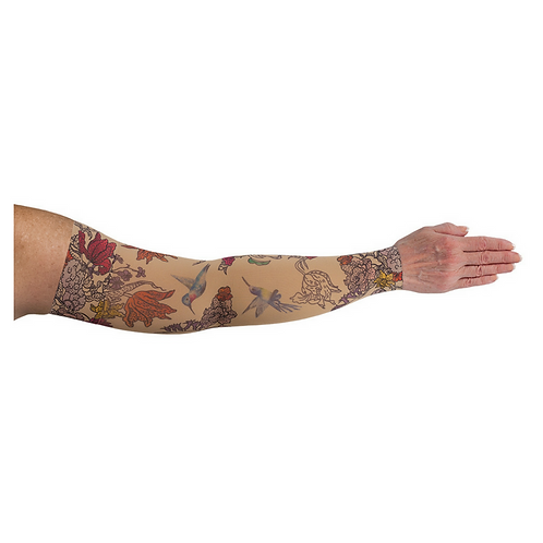 Hummingbird Arm Sleeve by LympheDIVAs