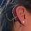 Thumbnail: CZ Pierced Stud Earring 14K Yellow Gold (For Cochlear Implants) by HearClip
