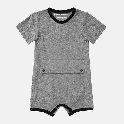 Big Kid Bodysuit with Tummy Access by Spoonie Threads