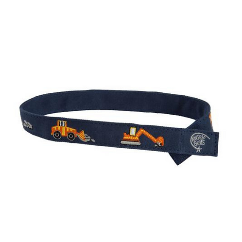Orange Construction Velcro Belt by Myself Belts