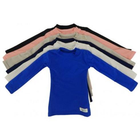 Baby Plain + Simple Sensory Compression Long Sleeve Shirt by Kozie Clot