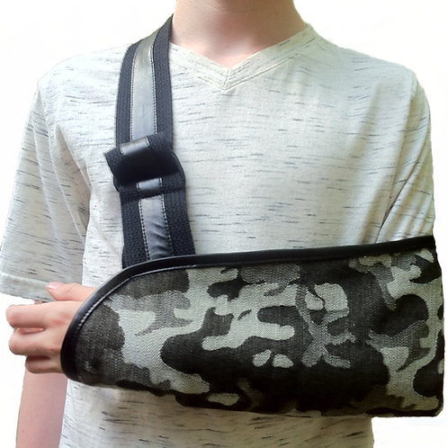 Camo Kids Arm Sling by Not Blue Designs