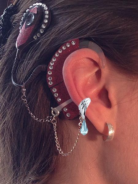 Cochlear Implant Ear Cuffs