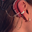 """Thumbnail: """"CZ Band"""" 14K Yellow Gold Ear Cuff (For Cochlear Implants) by HearClip"""
