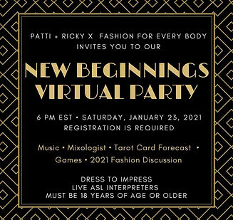 Click Here to Register for New Beginning