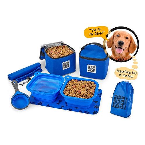 Dine Away® Food Set (Medium/Large Dogs) by Overland Dog Gear