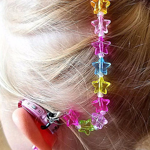 2 Just Wanna Have Fun Rockin Aid Retainers by Purple Cat Aid Charms