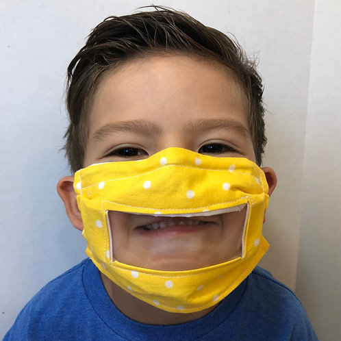 Kids Window Face Mask by Crafty MerMade