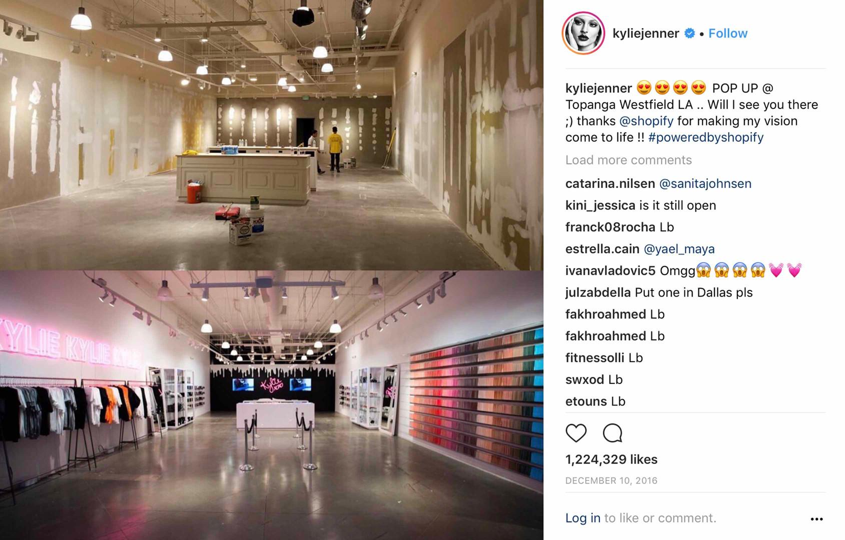 kylie_cosmetics_Instagram_Shopify_Conten