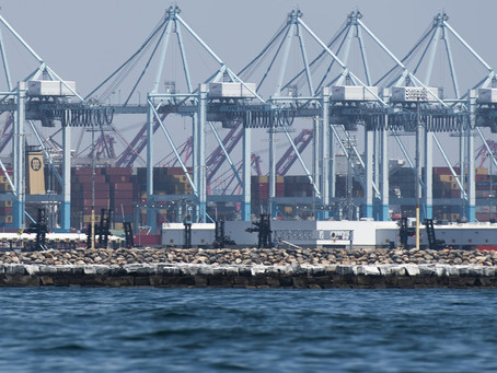 Surge in online spending leads to busiest month on record for Port of Long Beach.