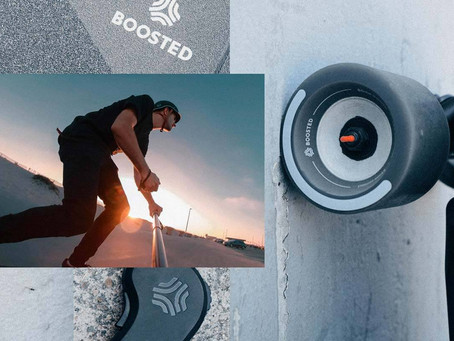 Boosted Board Features Chrilleks' Executive Creative Director, Chris Grubisa