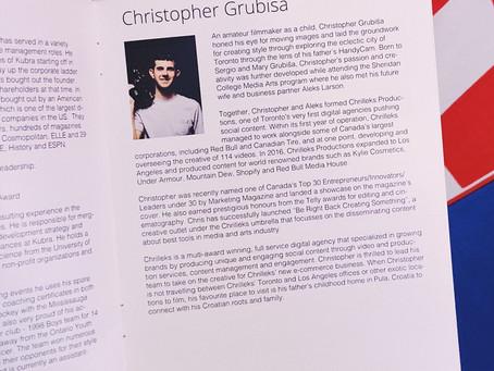 Chrilleks President / ECD wins Entrepreneur of the Year