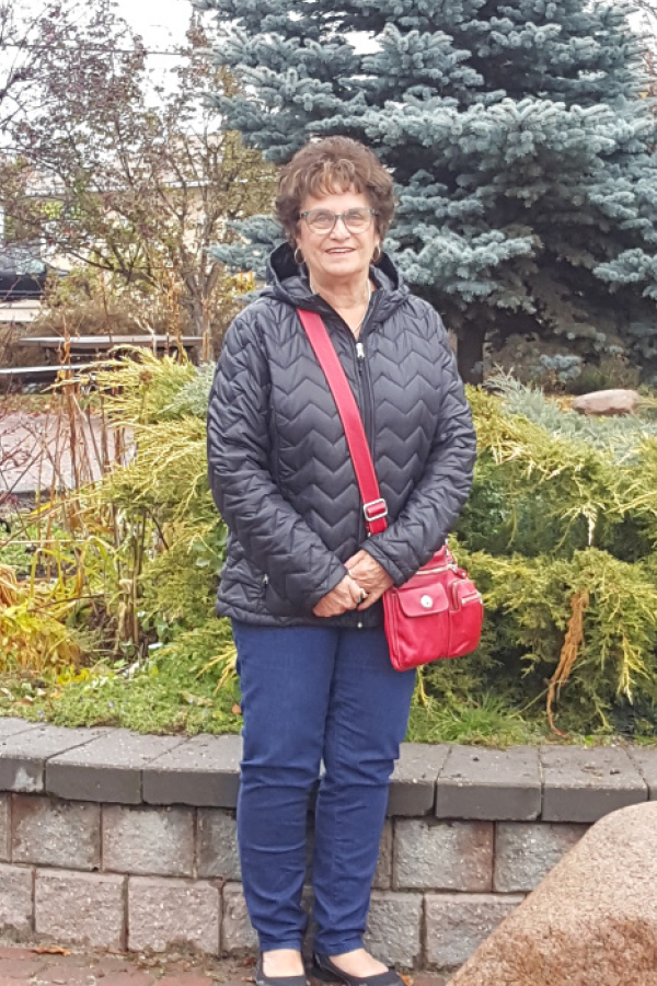 Clara Steinback is an avid volunteer in Whitecourt and helps out at several community organizations