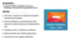 UXDI Typography Homework using Canva