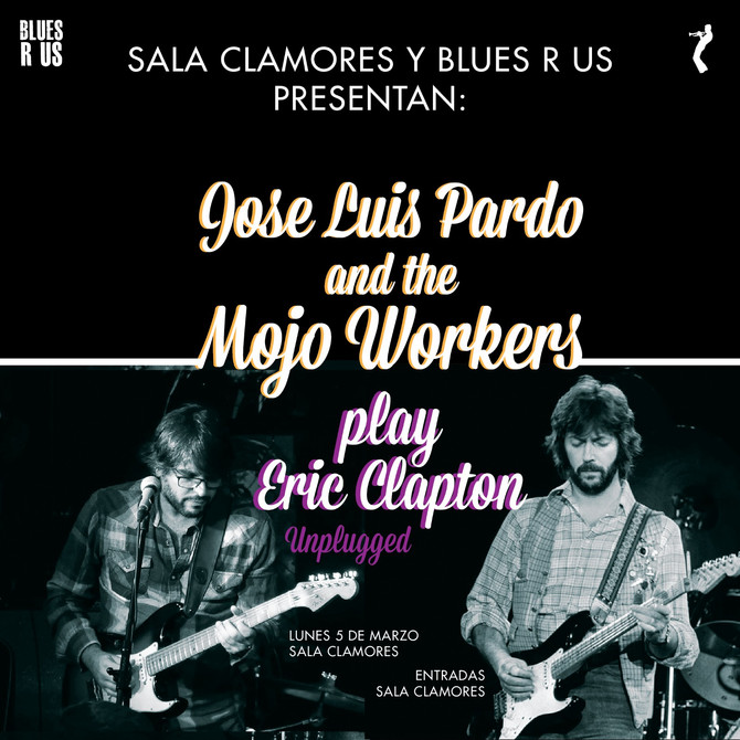 Jose Luis Pardo plays tribute to Eric Clapton´s Unplugged  Available all 2018