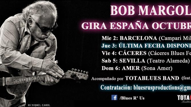 Bob Margolin, The Blues Spanish Tour 2019