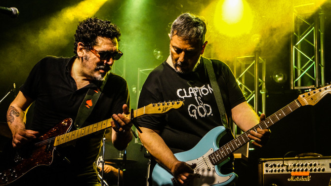 La Mississippi (Arg) con Ricardo Tapia y Gustavo Ginoi en Sala Clamores, Madrid el próximo 24 de May