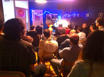 Kirk Fletcher en Escuela de Blues de Madrid