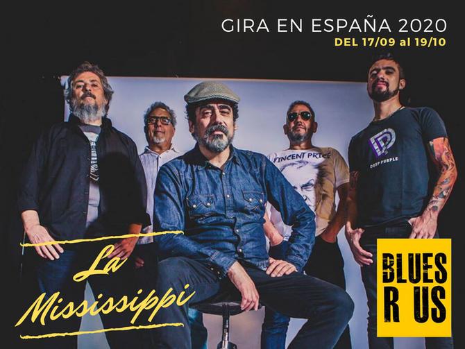 LA MISSISSIPPI FESTEJA EN ESPAÑA SUS MAS DE 30 AÑOS CON LA MUSICA!