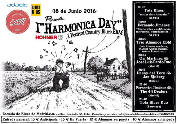 I Harmonica Day