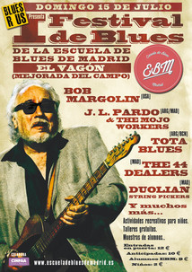 I Festival de Mejorada feat. Bob Margolin