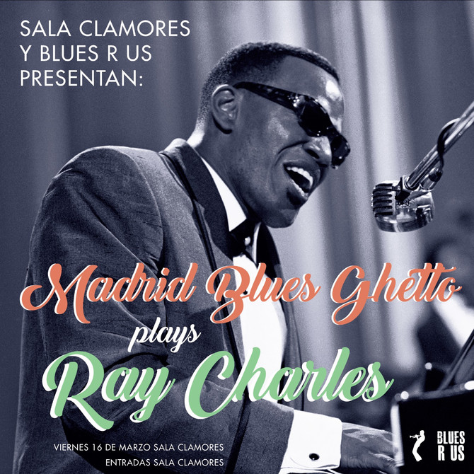 Madrid Blues Ghetto plays Ray Charles Available all year! Disponble to