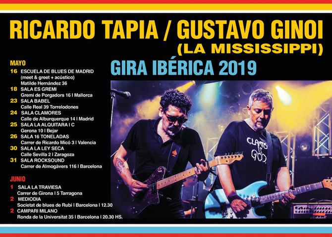 Todas las fechas de la gira española de La Mississippi (Arg)