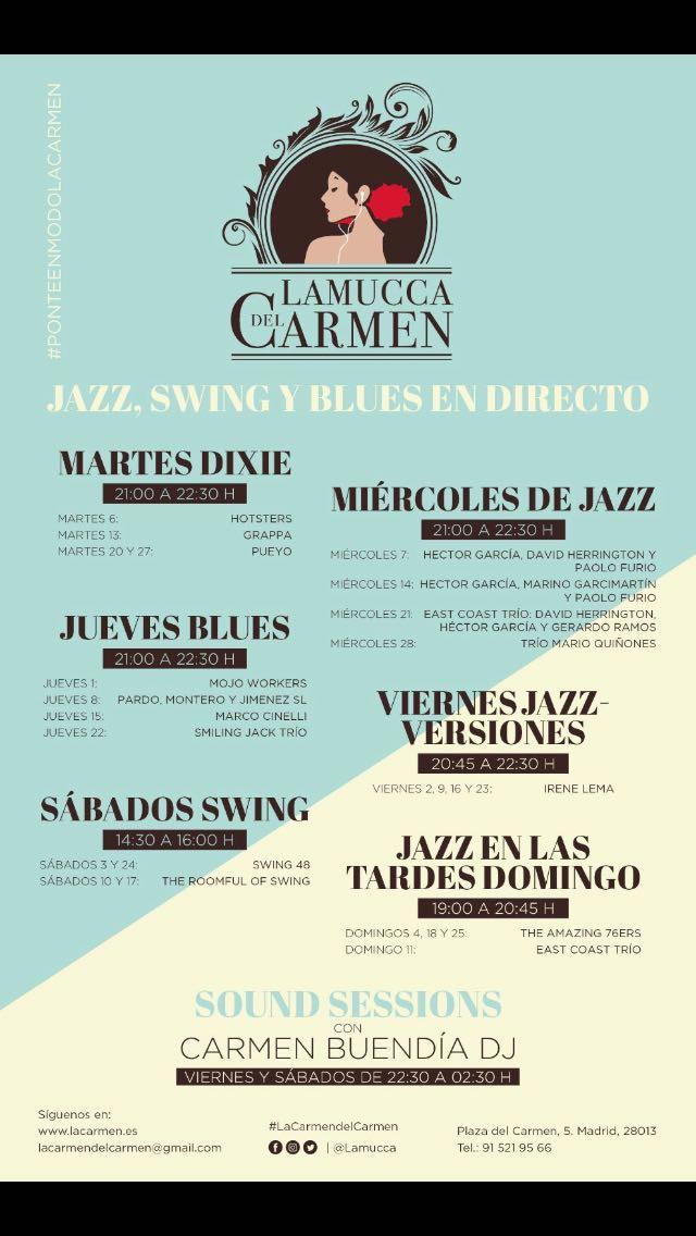 Colaboración en programación de La Mucca del Carmen