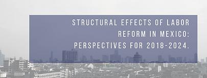 Efectos estructurales de la reforma cons