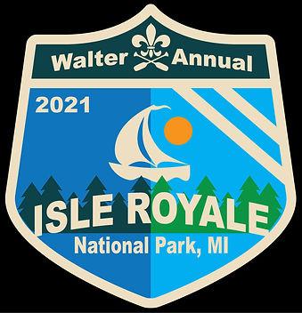 Walter Annual 2021 Seal -Isle Royale