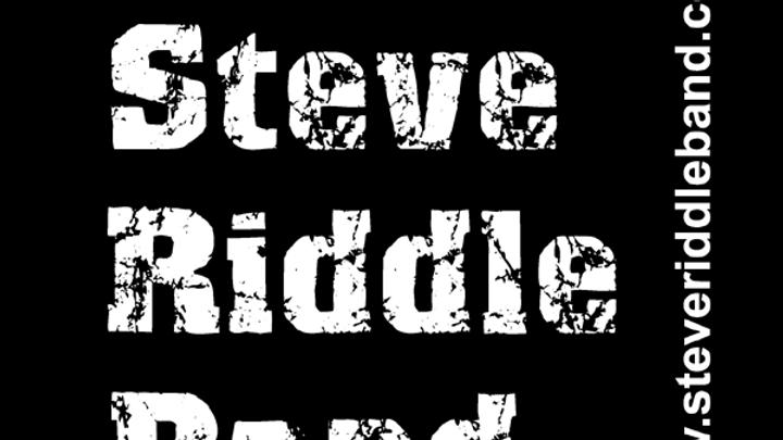 Steve Riddle Band Distressed Logo Sticker