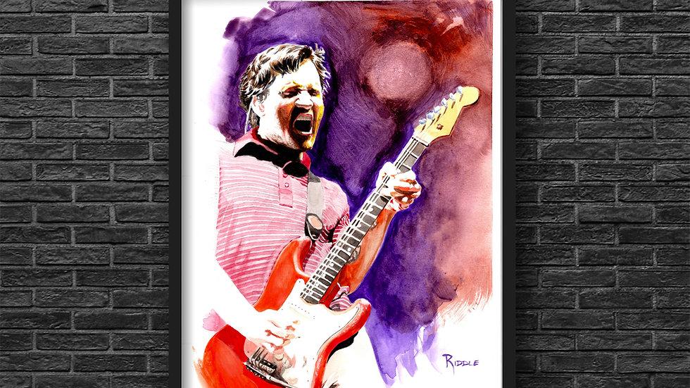 John Frusciante Original Watercolor Fine Art Painting