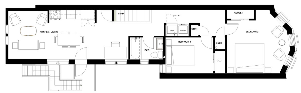 D.I.T.O Café -  Third Floor Plan