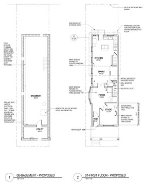 51st Street Twin - Floor Plans