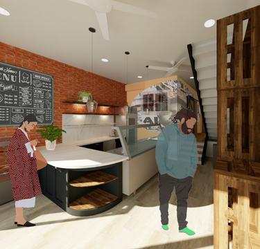JuiceBox Café - Serving Kitchen