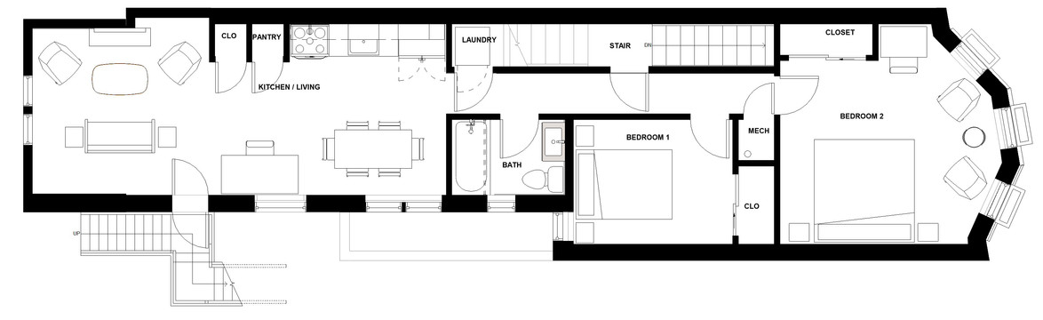D.I.T.O Café -  Second Floor Plan