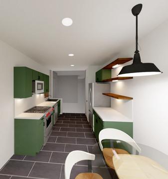 Emerald Street Addition - Custom Kitchen