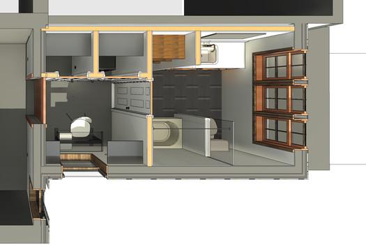 Emerald Street Addition - Second Floor Plan View