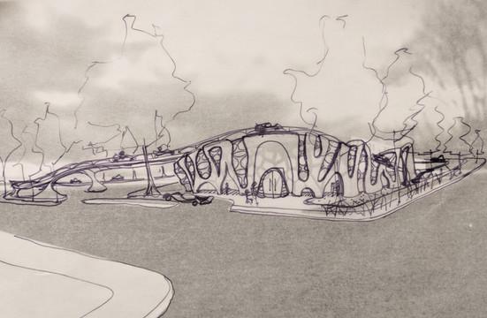 Urban Youth Racing School - Concept Design Sketch