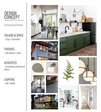 Emerald Street Addition - Design Concept Board