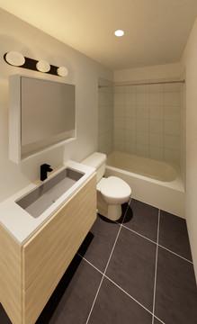 Chelten Ave Duplex - Bathroom